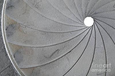 Aperture Photograph - Old Aperture - Exposure Diaphragm by Michal Boubin