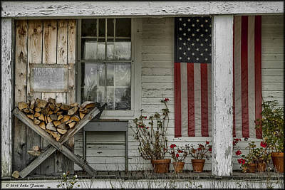 Photograph - Old Apple Orchard Porch by Erika Fawcett