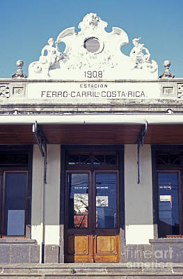 Photograph - Old Atlantic Railway Station Costa Rica by John  Mitchell
