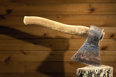 Photograph - Old Axe by Alexey Stiop