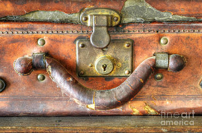 Old Baggage Art Print by Bob Christopher
