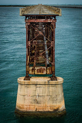 Old Bahia Honda Bridge Art Print