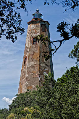 Old Baldy Art Print by Sandra Anderson