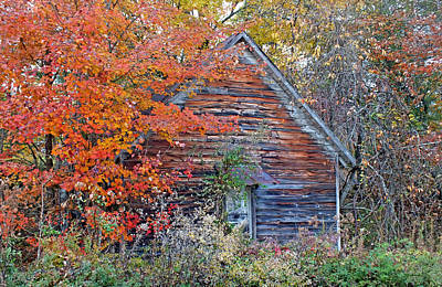 Photograph - Old Baptist Church In The Fall by Duane McCullough