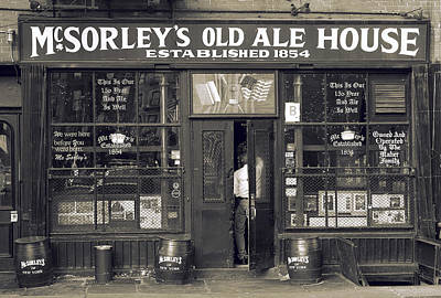 Mcsorleys Photograph - Old Bar  by ADT Gallery