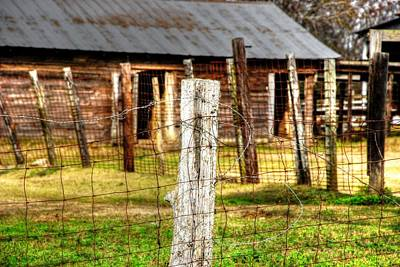 Old Barn 14 Art Print by Andy Savelle