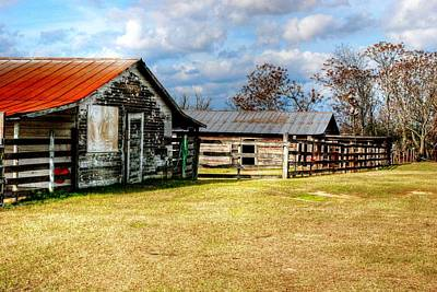 Old Barn 15 Art Print by Andy Savelle