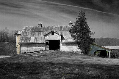 Photograph - Old Barn 2 by David Yocum