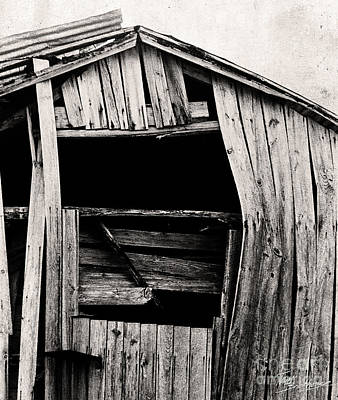 Photograph - Old Barn 2 by Tom Brickhouse