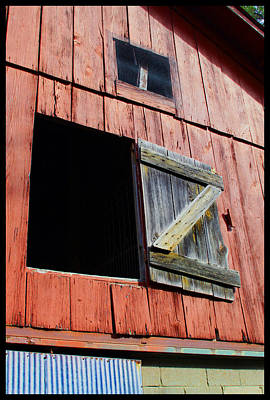 Old Barns Painting - Old Barn - 3 by John Lautermilch