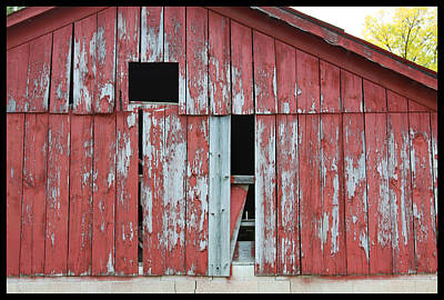 Old Barn - 5 Original by John Lautermilch