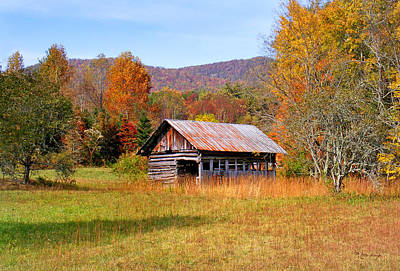 Photograph - Old Barn Along Slick Fisher Road by Duane McCullough