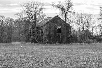 Photograph - Old Barn by Charles Kraus