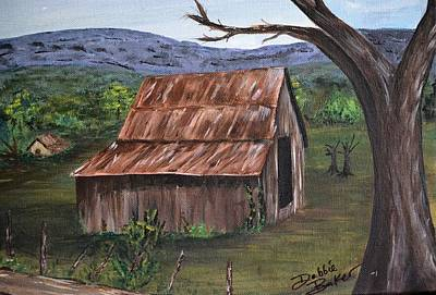 Painting - Old Barn by Debbie Baker