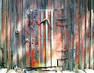 Photograph - Old Barn Door 2 by Duane McCullough