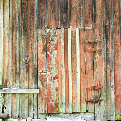 Photograph - Old Barn Door by Duane McCullough