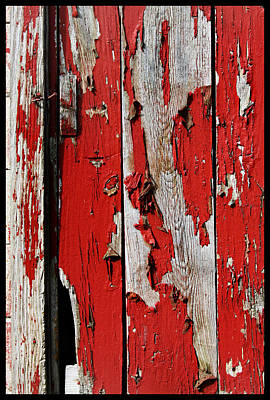 Old Barn Door Original by John Lautermilch