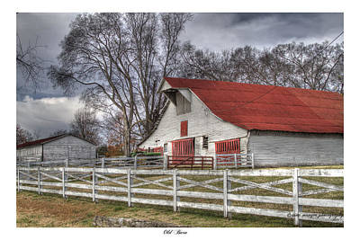 Brentwood Barn Photograph - Old Barn by Gina Munger