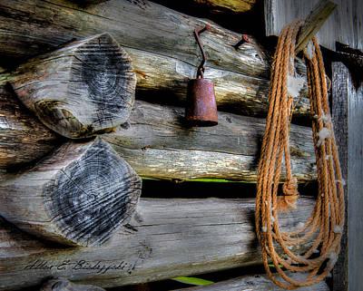 Old Barn Goods Art Print by Allen Biedrzycki