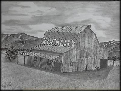 Old Barn II Art Print