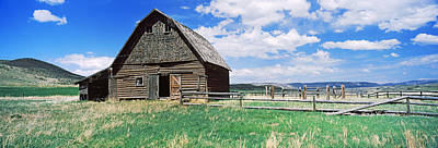 Old Barn In A Field, Colorado, Usa Art Print by Panoramic Images