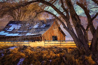 Old Barn In Sparks Art Print