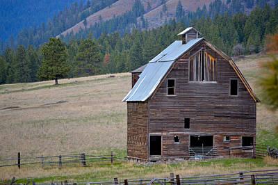 Old Barn In Washington Art Print