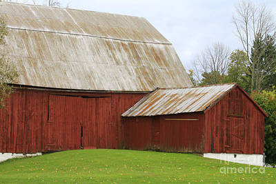 Photograph - Old Barn by Kathy DesJardins