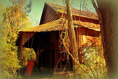 Photograph - Old Barn by Lisa Wooten