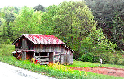 Photograph - Old Barn Near Willamson Creek by Duane McCullough