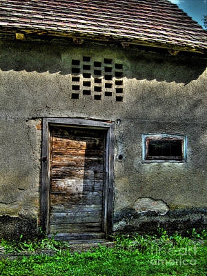 Photograph - Old Barn by Nina Ficur Feenan