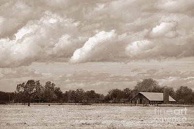 Photograph - Old Barn On 99 by Kathleen Gauthier