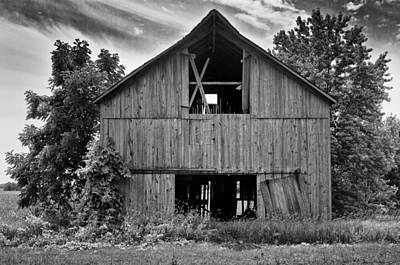 Photograph - Old Barn by Ricky L Jones