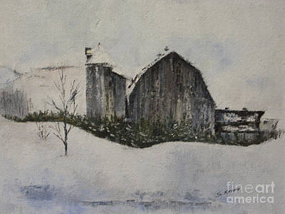 Old Barn Print by Steve Knapp
