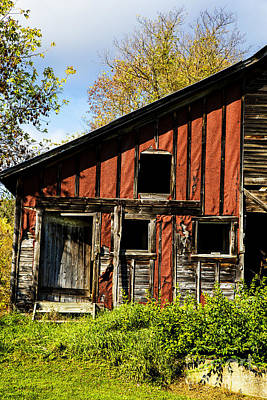 Photograph - Old Barn Vermont by Rick Bragan