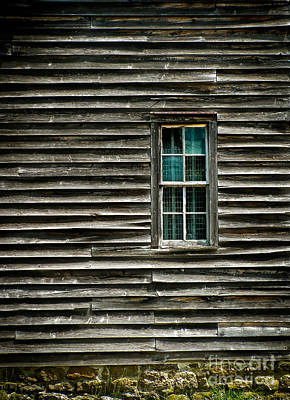 Photograph - Old Barn Window by Colleen Kammerer