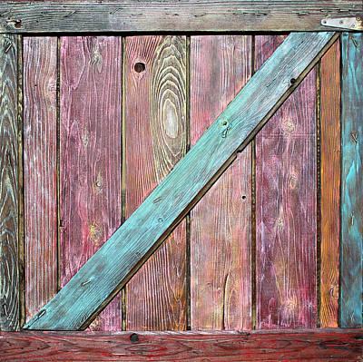 Painting - Old Barnyard Gate 2 by Asha Carolyn Young