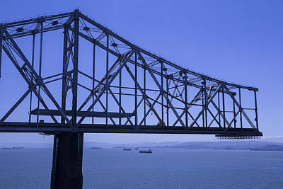 Old Bay Bridge Art Print by Garry Gay
