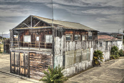 Photograph - Old Bayside Canning Company Alviso by SC Heffner