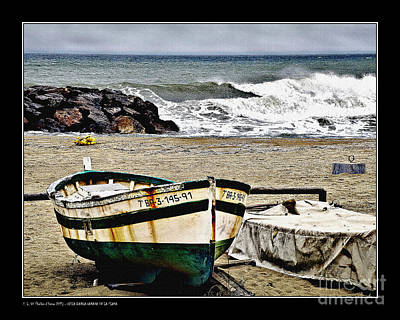 Photograph - Old Beached Boat by Pedro L Gili