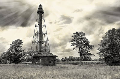 Photograph - Old Beacon Of Light by Trudy Wilkerson