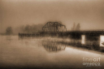 Photograph - Old Berkley Dighton Bridge by David Gordon