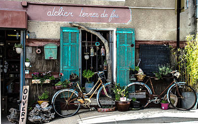 Photograph - Old And Rusty Bicycles  by Dany Lison