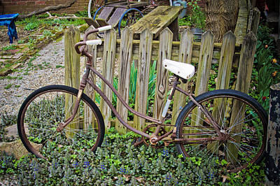 Photograph - Old Bike by Daniel Houghton