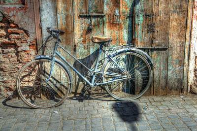 Photograph - Old Bike by Sophie Vigneault