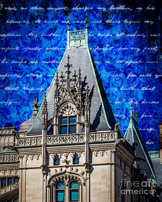 Chateau Digital Art - Old Biltmore  by Perry Webster