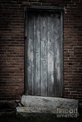 Blacksmith Photograph - Old Blacksmith Shop Door by Edward Fielding