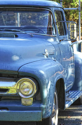Photograph - Old Blue by Donna Blackhall
