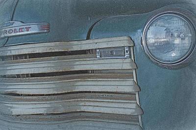 Old Blue Art Print by Lynn Sprowl