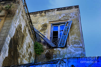 Photograph - Old Blue by Rick Bragan